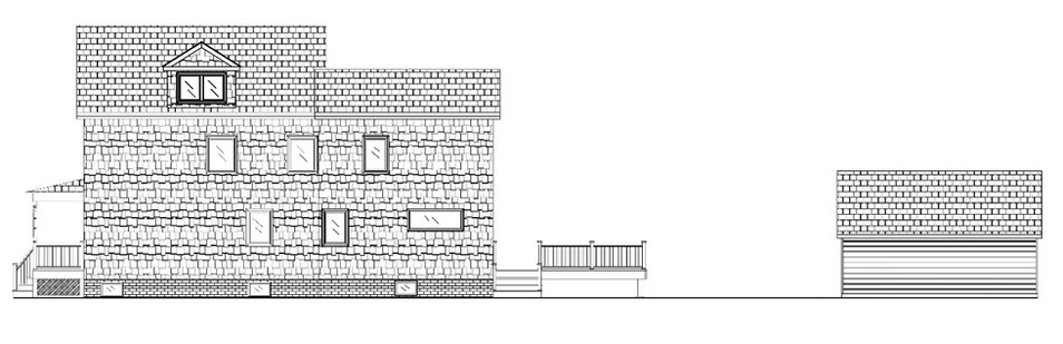 Madison Exterior Elevations Side
