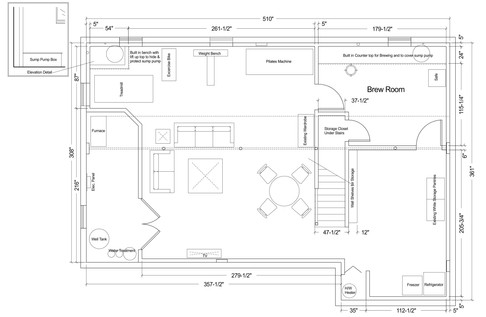 Basement Space Planning - ML