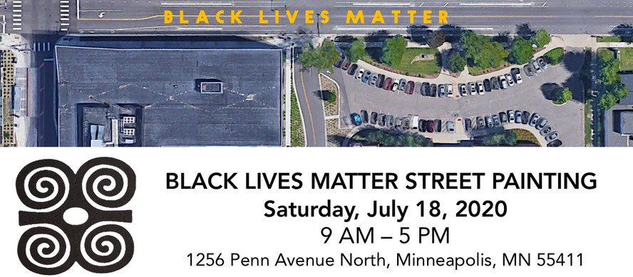 HISTORIC BLACK LIVES MATTER STREET PAINTING