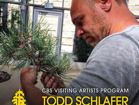 CBS Visiting Artist Todd Schlafer