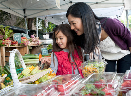 How to encourage your children to eat more veggies.