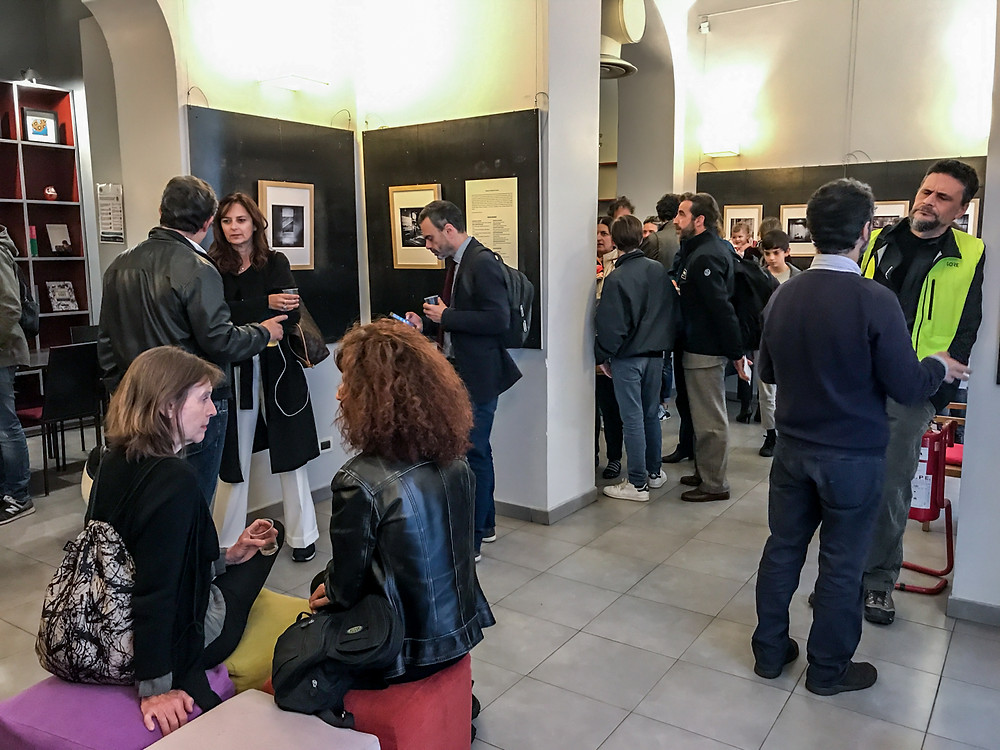 Inaugurazione della mostra Immaginario Giapponese alla galleria Doozo