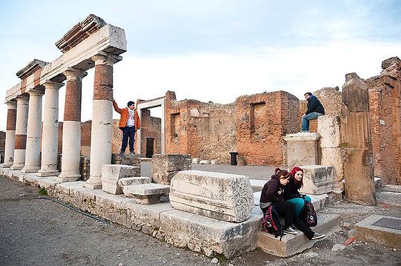 Workshop a Pompei