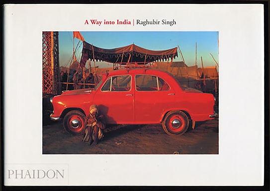 A Way To India, un libro di Raghubir Singh