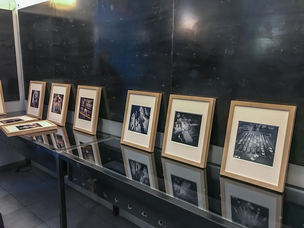 Allestimento della mostra Immaginario Giapponese