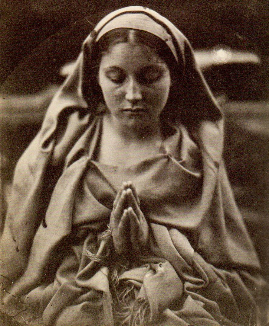 St Agnes @ Julia Margaret Cameron foto