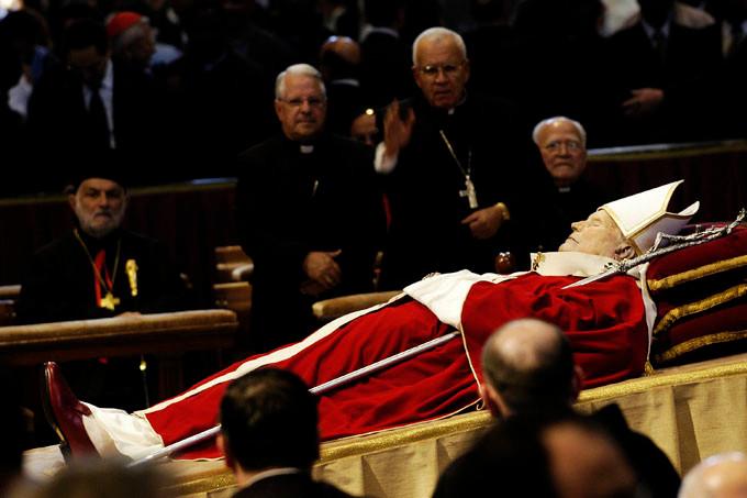 morte Papa Giovanni Paolo II funerali Giorgio Cosulich de Pecine