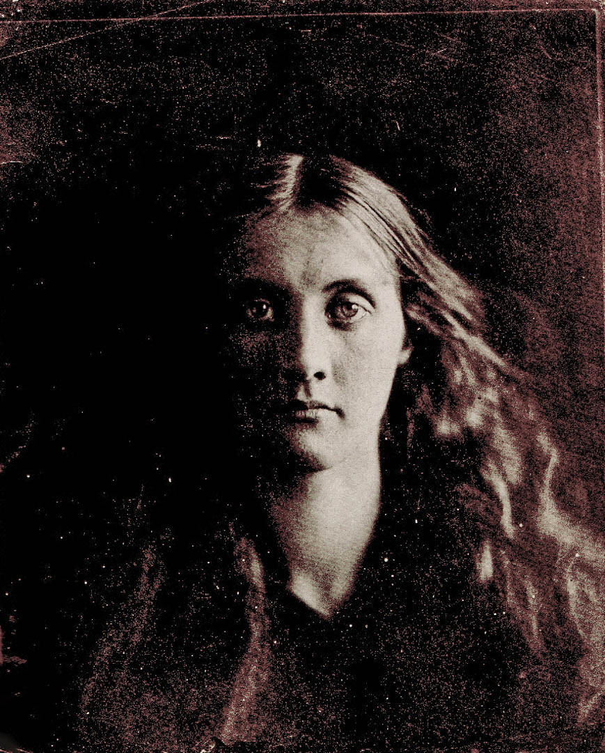 Julia Jackson, fotografata nel 1864 dalla zia, la fotografa Julia Margaret Cameron ritratto donna