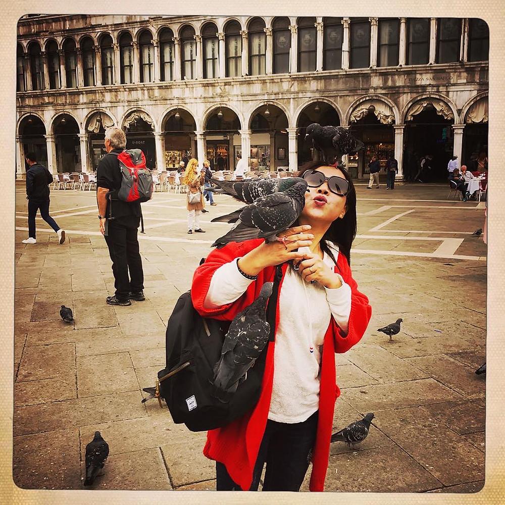 Giorgio Cosulich venezia piazza san marco smartphone iphone 7