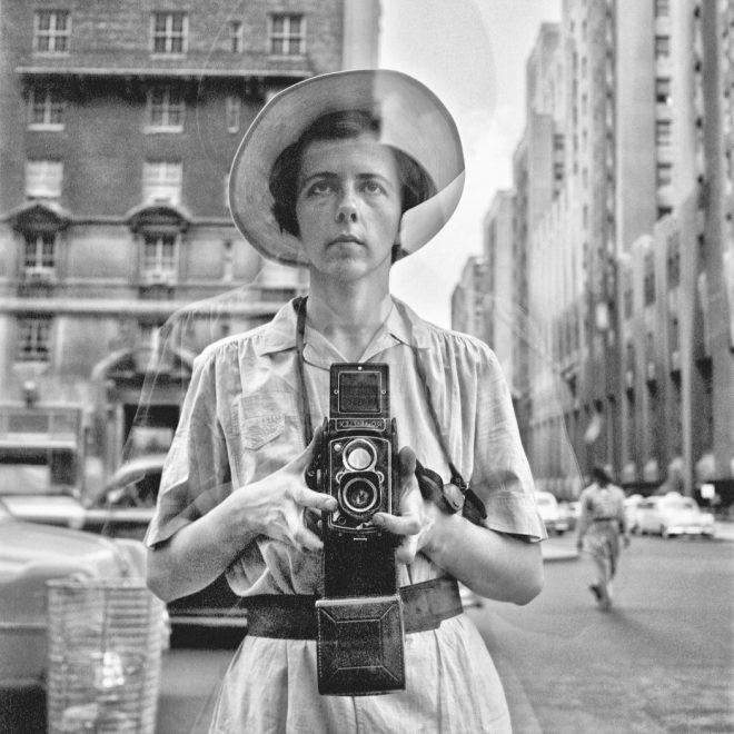 Vivian Maier fotografa autoritratto