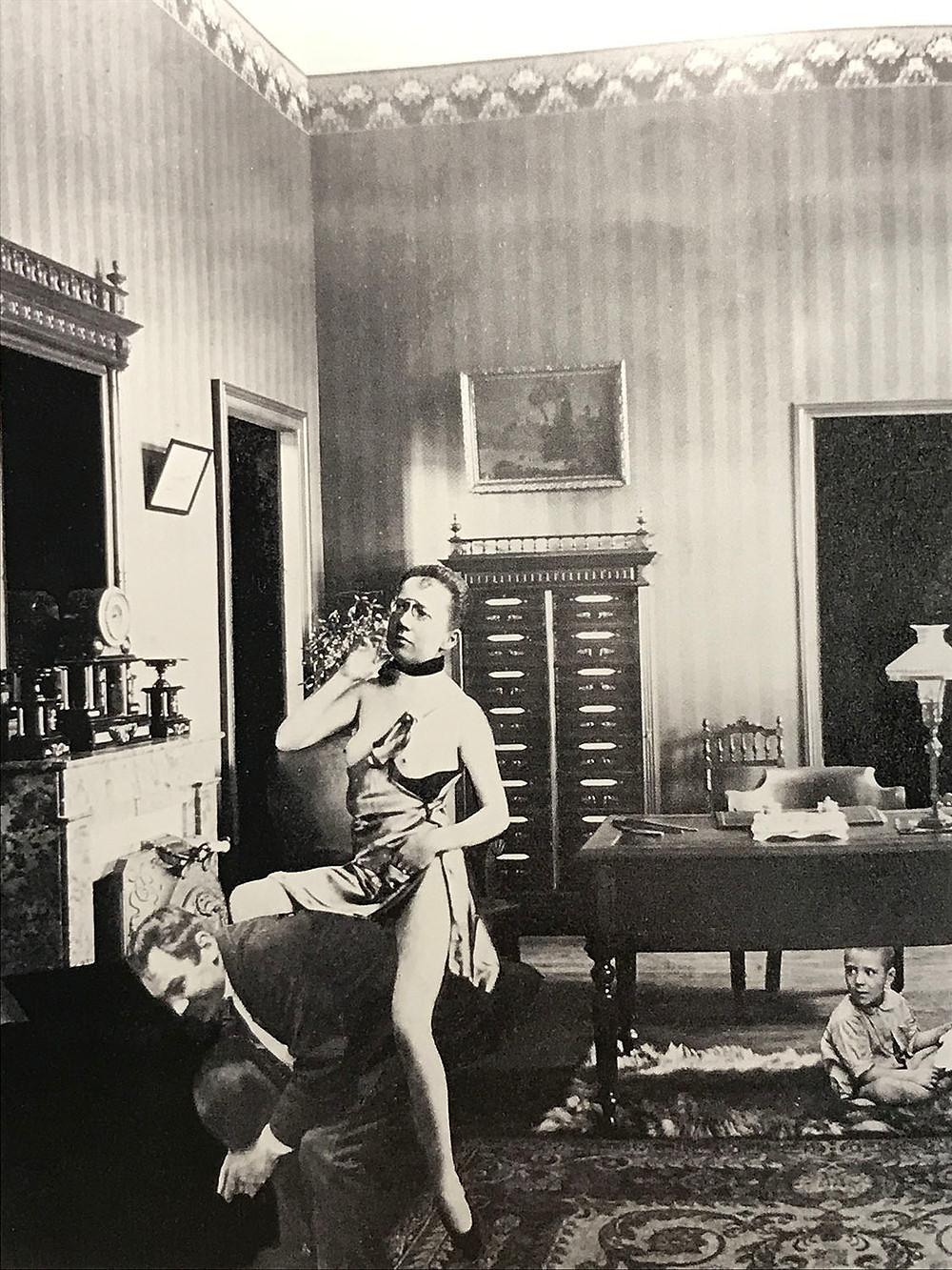 Giochi proibiti, fotomontaggio Dora Maar 1935