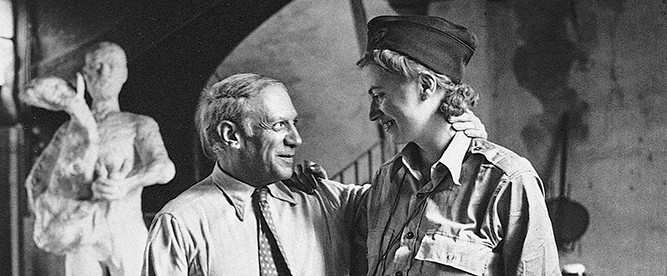Pablo Picasso e Lee Miller