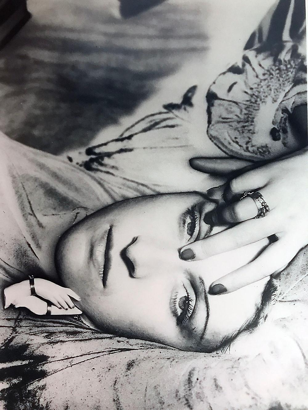 Dora Maar fotografia di Man Ray solarizzazione 1936