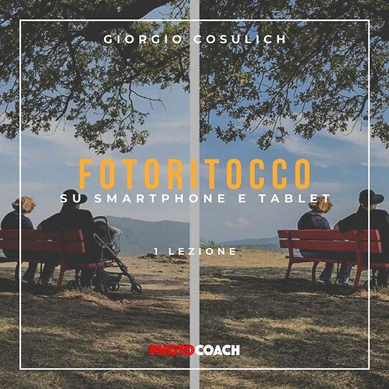 Fotoritocco su smartphone e tablet | Giorgio Cosulich