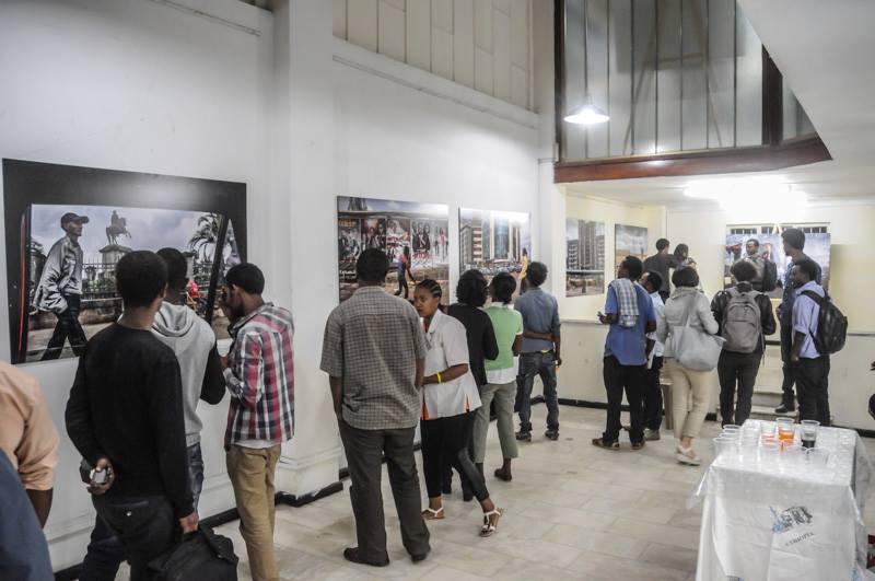 fotografia mostra addis ababa abeba etiopia