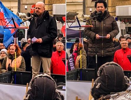 """+++ Erneut demonstrierten Tausende bei """"Zukunft Heimat"""" für nationale Identität und gegen Multikulti"""