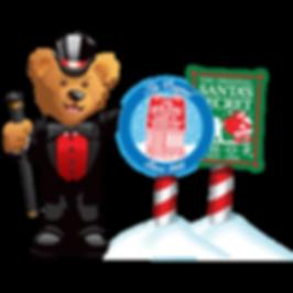 Holiday Gift Shop Fun Bear
