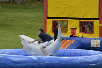 Mechanical Shark Inflatable Rental, Moon Bounce Rental