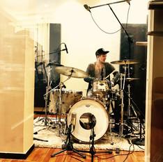 Schlagzeugaufnahme mit und bei Marcel Munz