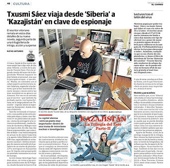 El Correo previo marzo TxusmiKazajistan.