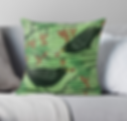 blackbirds cushion