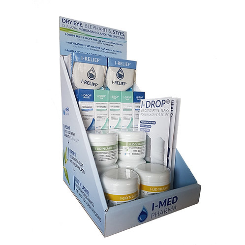 I-MED PHARMA Dry Eye Starter Pack with display unit