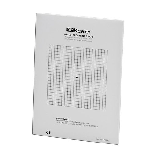 Amsler Recording Charts Replacement Pad (50)