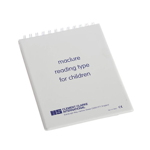 Maclure Test Type for Children