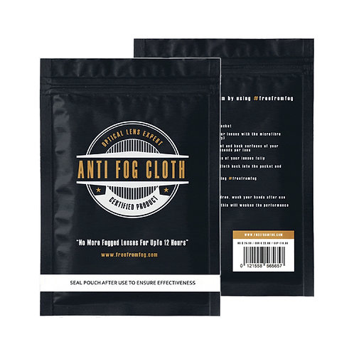 Free From Fog Lens Cloth - box of 25