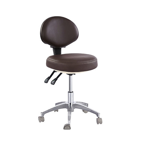 Grafton Optometrists Stool with Backrest