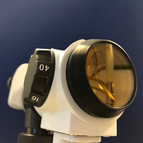 Yellow Wratten Filter - fits Mediworks Slitlamps