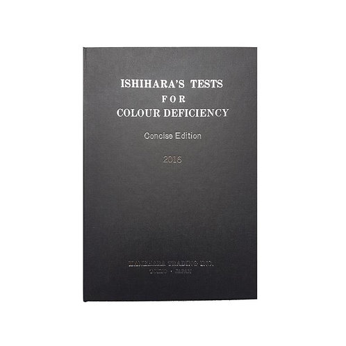Ishihara Colour Deficiency Test - 14 Plate Concise Edition