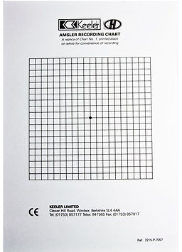 Keeler Replacement Recording Charts Grafton Optical