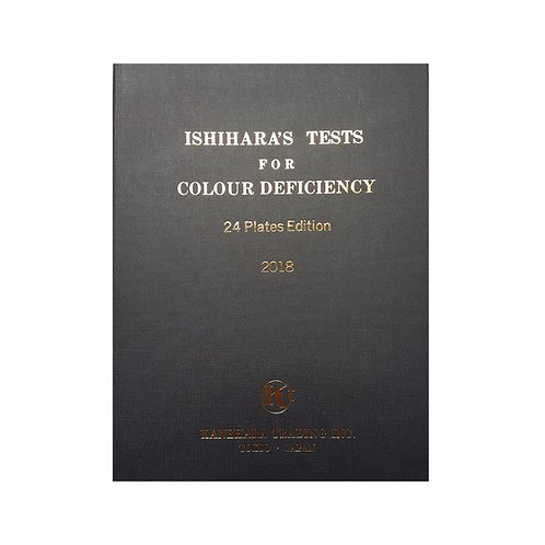 Ishihara Colour Deficiency Test - 24 Plate