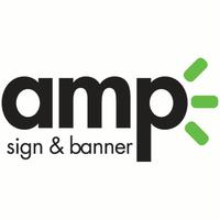 AMP Sign & Banner