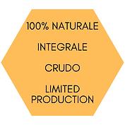 100% NATURALE _ INTEGRALE CRUDO _ LIMITE