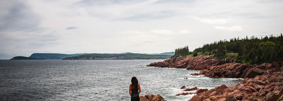 Explore the capes and coves of scenic Cape Breton Island
