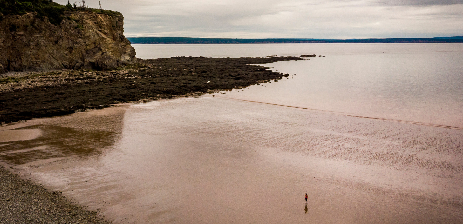 Explore the rough and wild Cape Enrage for incredible views