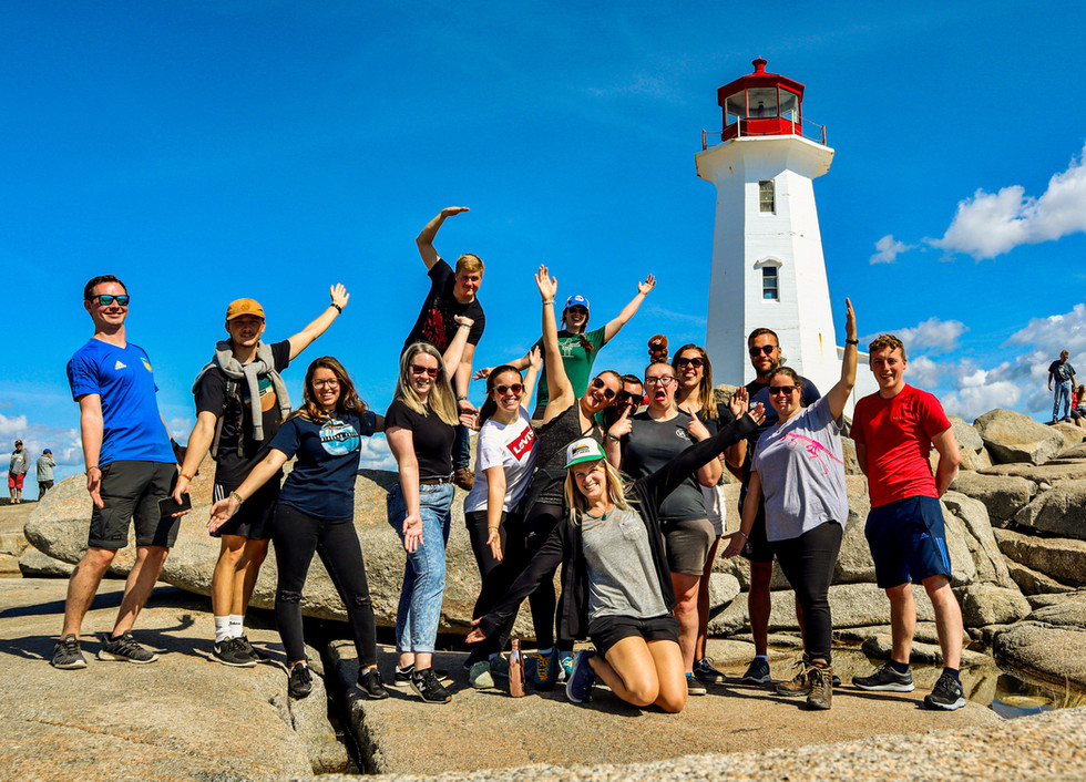 Enjoy your days exploring with awesome people from around the world