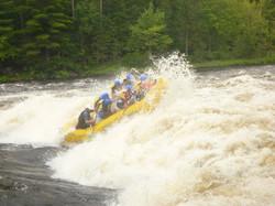 Rafting on the Ottawa River
