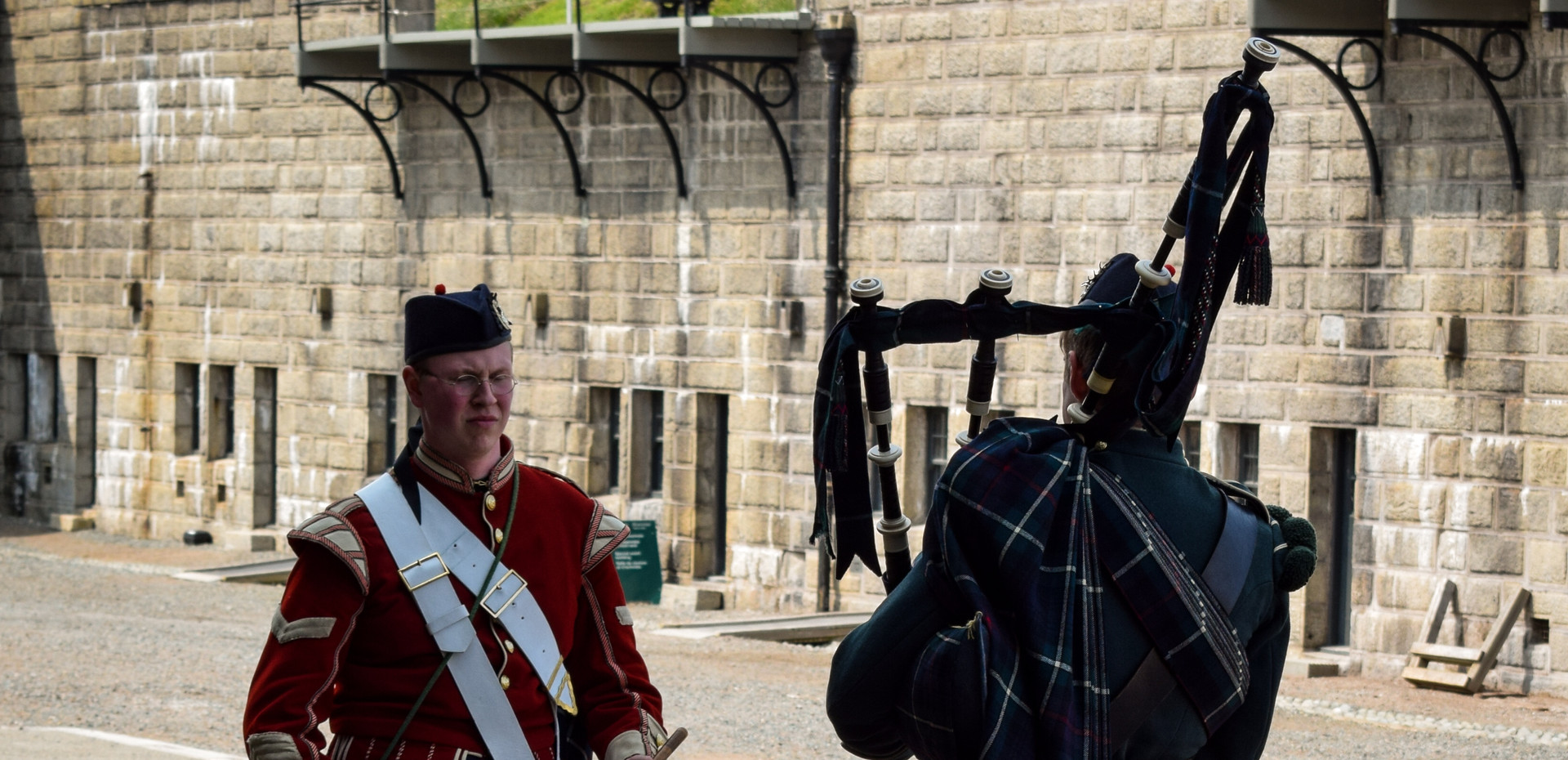 Visit the Citadell aka fort George a National Historic Site of Canada