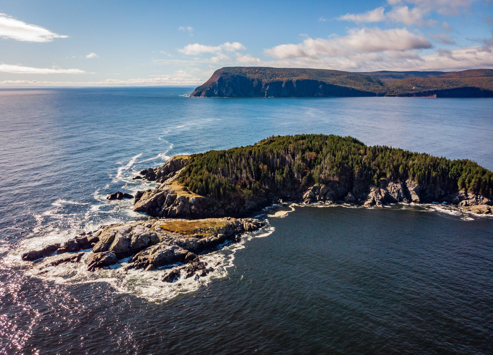 Explore dramatic coastlines throughout the Maritimes