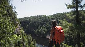 Hiking Canada Tour Adventure Best Lookout Point Algonquin Park Barron Canyon