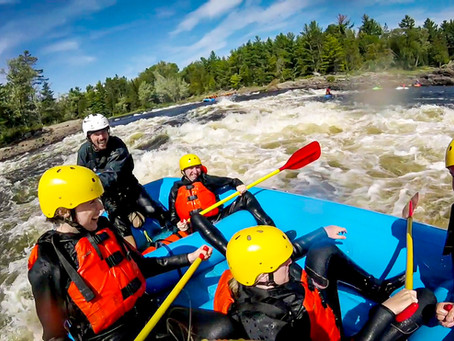 White Water Rafting the Ottawa River | The best rafting in Canada