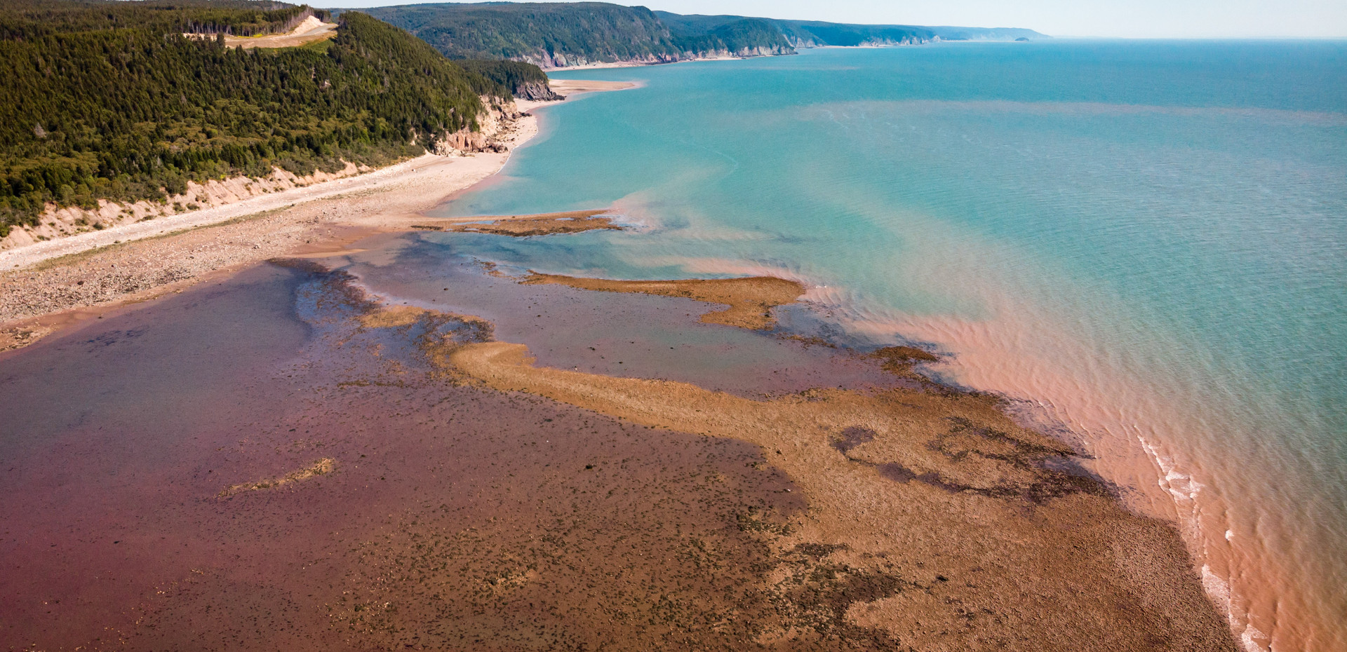 Take in the scenery on the legendary Fundy Trail road-way