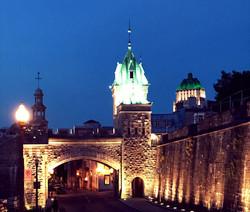 Evening in Quebec, Quebec