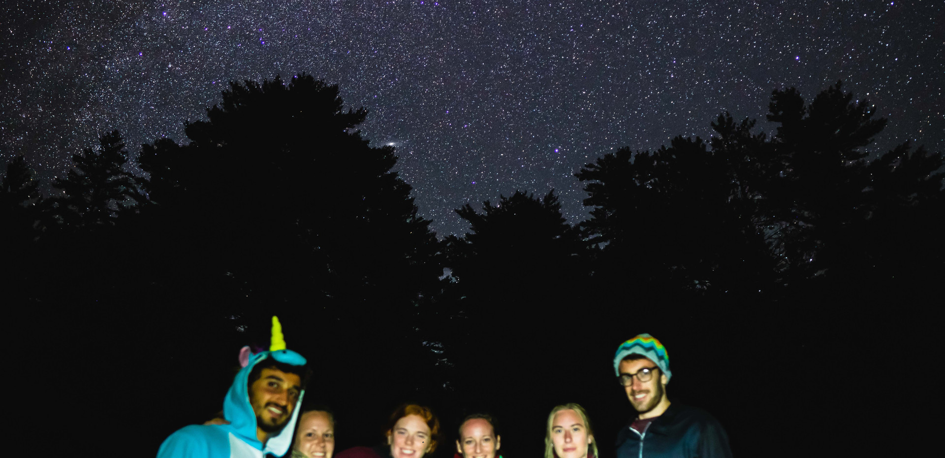 Experience pure starlight without light pollution
