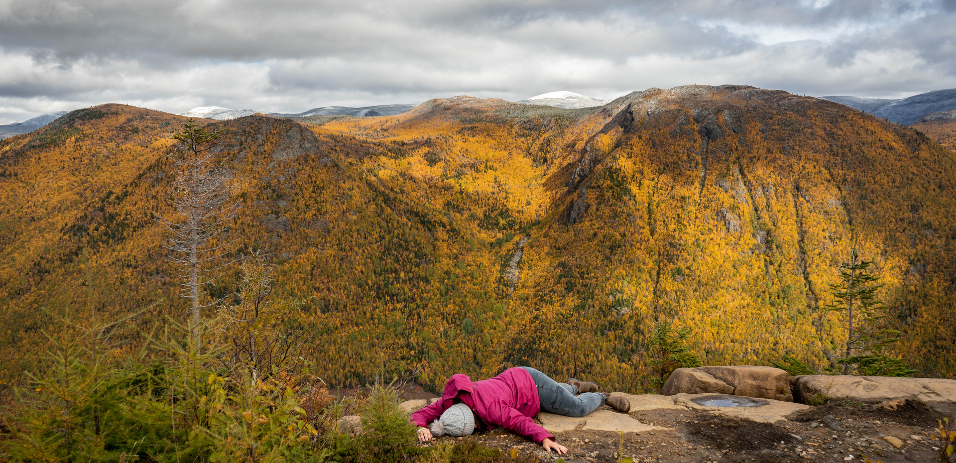 Hike the incredible Chic-Choc Mountains (and perhaps take a nap up top)