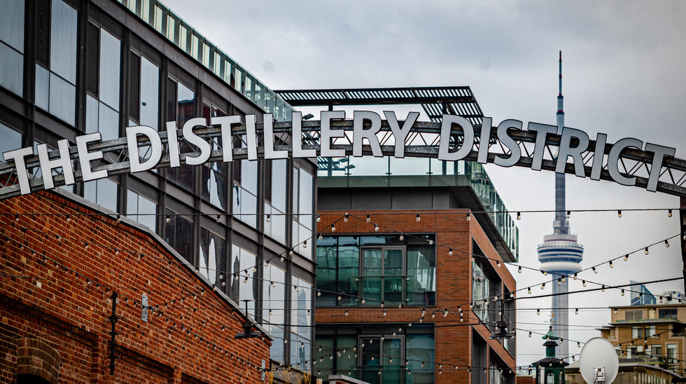 Enjoy a pint in the aptly named Distillery District