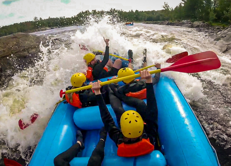 Raft the mighty Ottawa River – one of the highest rated rivers to raft in the world
